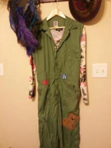 Completed coveralls - save for the roughing up!