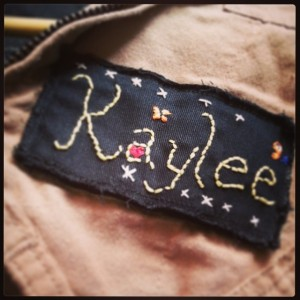 Embroidered Namebadge