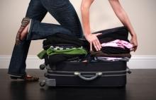 luggage stuffing