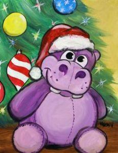 christmas-hippo